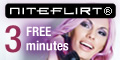 Click for 3 free   minutes on Niteflirt.com